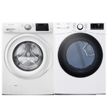 View Product - 4.2 cu. ft. Front Load Washer & 7.4 cu. ft. Ultra Large Capacity Smart wi-fi Enabled Electric Dryer- Minor Case Imperfections