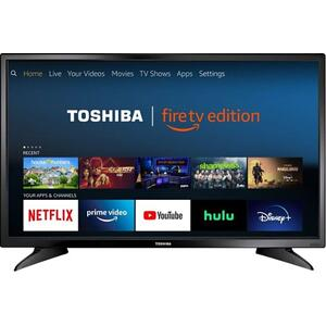 "32"" Smart Toshiba TV, 720P HD, Fire TV Edition"