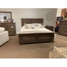 See Details - Solid Oak King Bedroom Set