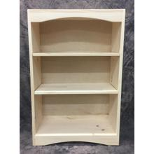 See Details - Maine Made Arched Bookcase 2 X 3 24W X 36H X 12D Pine Unfinished
