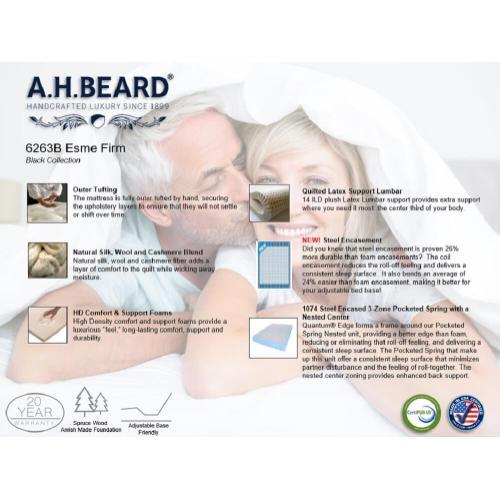 Paramount Sleep - A.H. Beard - Esme - Firm