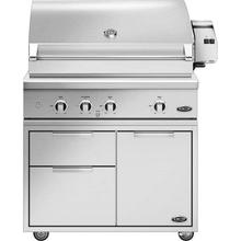 "DCS Floor Model - 7 Piece Grill Package, Includes 36"" Series 9 Grill with Grill Cart, Side Shelf, Tank Cover and more!"