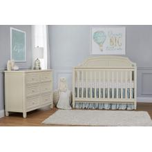 Astoria 4 in 1 Crib Buttercream