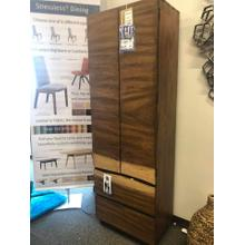 Smokey Walnut Property Brothers Accent Cabinet