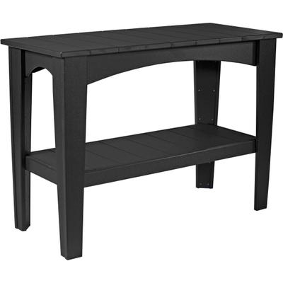Island Buffet Table Black