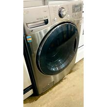 See Details - USED- 4.3 cu. ft. Ultra Large Capacity TurboWash Washer w/ NFC Tag On- FLWASH27GY-U  SERIAL #21