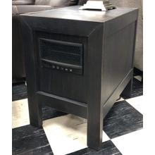 T752-17 Chair Side End Table W/ Heater
