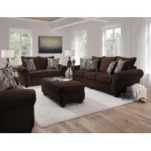 See Details - Artesia Chocolate Sofa / Loveseat 2pc LR Group