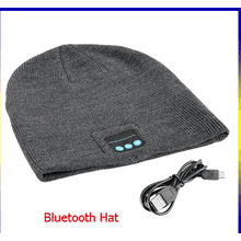 GREY HAT HANDS FREE  BLUETOOTH