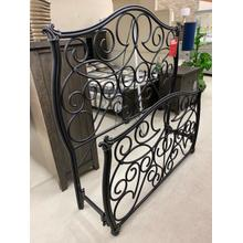 View Product - ID:149320 Queen size black iron bed