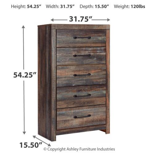 Drystan 5 Drawer Chest