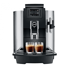 JURA WE8 Professional Automatic Coffee Machine, Chrome and Black