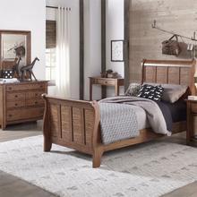 See Details - Full Sleigh Bed, Dresser & Mirror