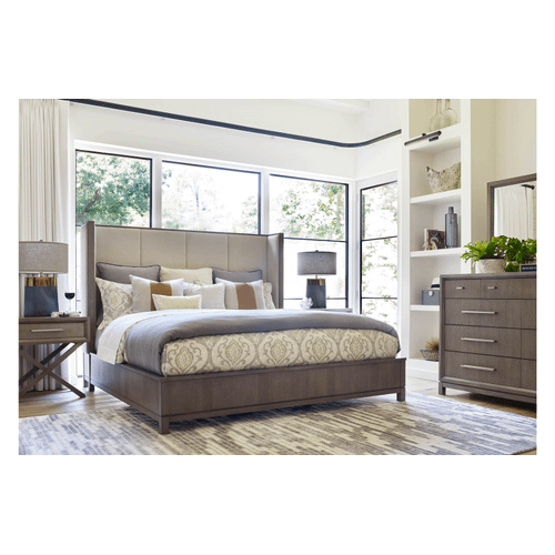 Rachael Ray Home Collection - 5 Piece Bedroom - Queen Bed, Dresser, Mirror, Nightstand and Chest