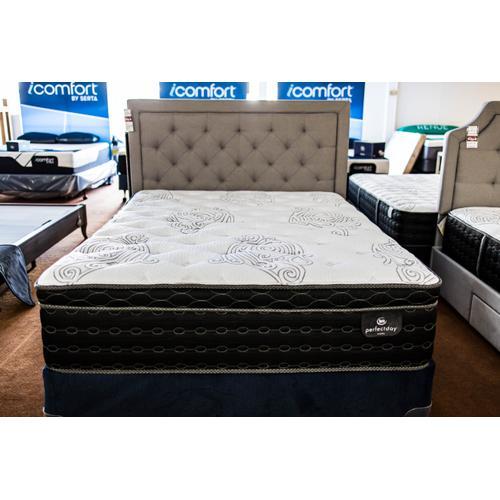 Serta - Ackerman Plush Pillow Top Mattress