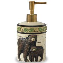 Two Black Bear Soap Dispenser