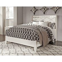 Dreamur- Champagne- Queen Panel Bed