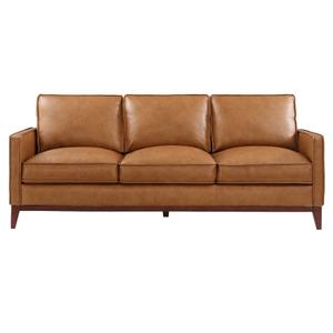 Leather Italia USA - Newport Leather Sofa