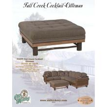 Fall Creek Cocktail Ottoman