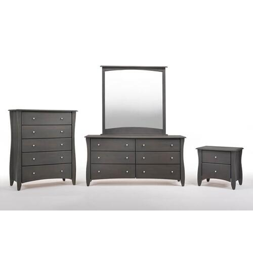 Night and Day Furniture - Clove Mirror Stonewash Finish