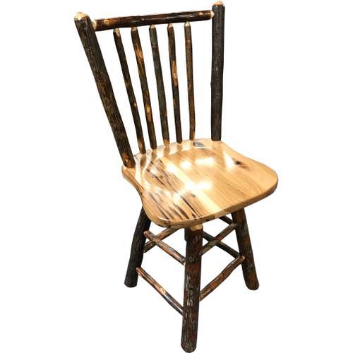 """24"""" Amish Hickory Barstool"""