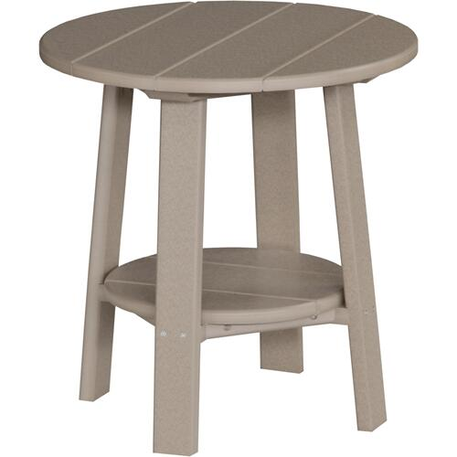 Deluxe End Table Weatherwood