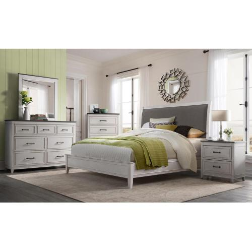 Packages - Del Mar Bedroom set by Martin Svensson 4pc Set, Includes: Queen Bed, Dresser, Mirror and 1 Night Stand