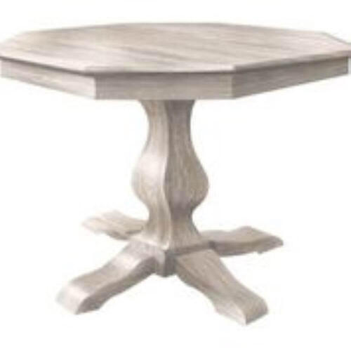 Amish Furniture - Ashley Pedestal Table