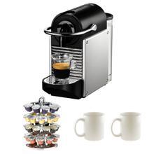 Nespresso D60-US-AL-NE Pixie Espresso Makers in Aluminum
