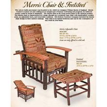 Morris Chair and Footstool
