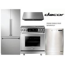 "DACOR 36"" GAS RANGE PACKAGE"
