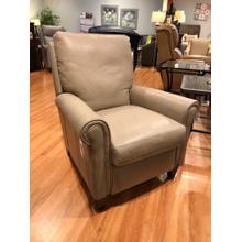 See Details - Leather High Leg Recliner