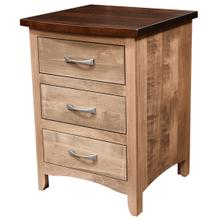 Roxbury Rustic Smooth Collection- Nightstand