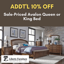 View Product - Additional 10 PERCENT OFF Avalon Queen or King Bed