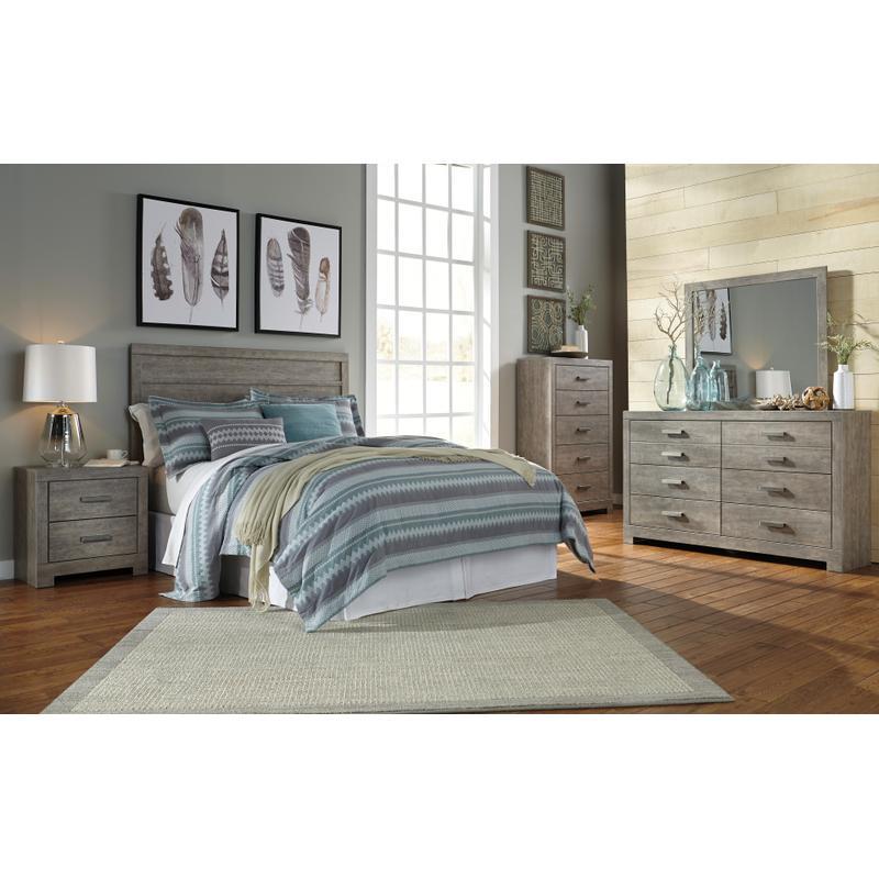 View Product - Culverbach - Gray 4 Piece Bedroom Set