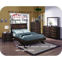 Crown Mark B6150 Vera Bedroom set Houston Texas USA Aztec Furniture