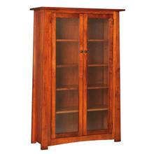 Craftsmen Bookcase Glass Doors