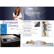 BackSense European Country Foam Mattress