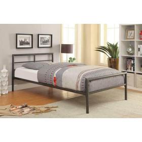 TWIN SIZE METAL BED