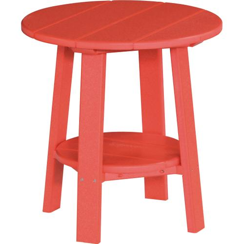 Deluxe End Table Red