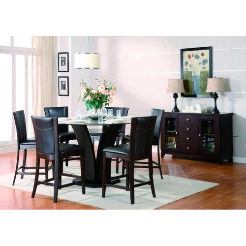 Daisy 5pc. Round Counter Height Dining Room Set