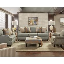 Brewhouse Metal Sofa, Two Accent Chairs and Hamilton Flannel Ottoman