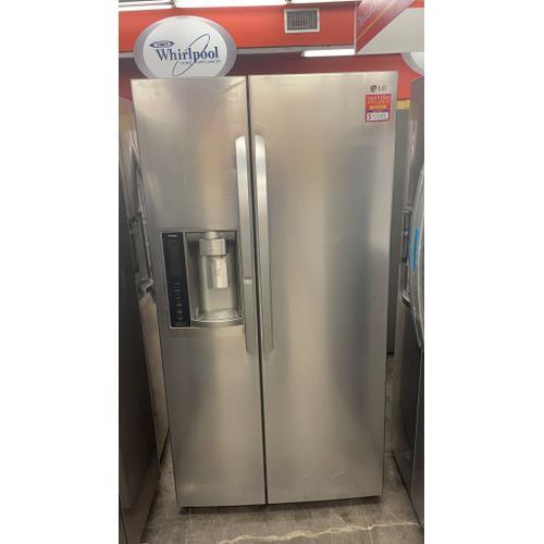 Treviño Appliance - LG Side by Side Refrigerator