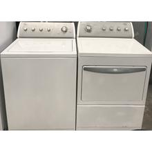 Whirlpool Top Loading Washer & Gas Dryer Set