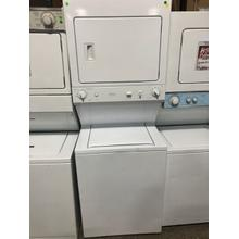 Used GE Unitized Spacemaker® Washer and Gas Dryer