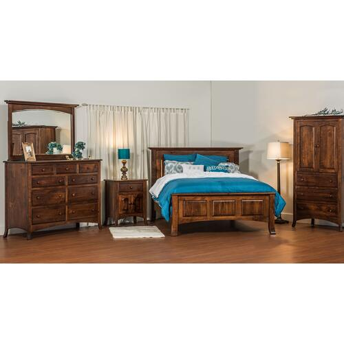 Amish - Shown in Rustic Cherry