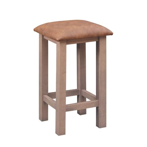 """Country Value Woodworks - 24"""" Mission Bar Stool"""