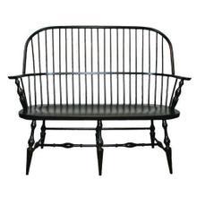 See Details - Amish Philadelphia Windsor Arm Bench