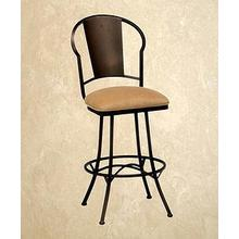 Charleston - Armless Swivel Barstool