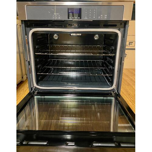 Whirlpool - Whirlpool  WOS51EC0AS   5.0 cu. ft. Single Wall Oven with extra-large window